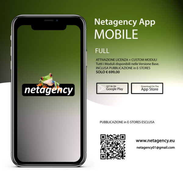 netagency web agency 2020 app mobile custom version
