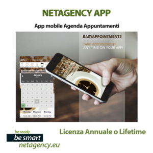 netagency web agency 2020 app mobile modulo booking